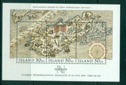 Iceland 1991 NORDIA '91 MS MUH Lot57401 - 1944-... Republic