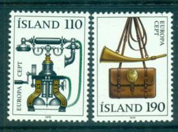 Iceland 1979 Europa, Communications MUH Lot65718 - 1944-... Republic