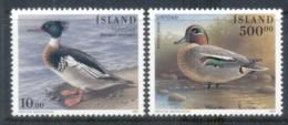 Iceland 1997 Waterbirds MUH - 1944-... Republic