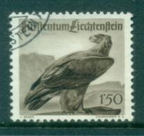 Liechtenstein 1947 Birds, Eagle FU - Unused Stamps