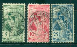 Switzerland 1900 UPU Allegory (faults) FU Lot59063 - Switzerland