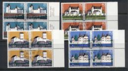 Switzerland 1977 Welfare Castles Blk4 CTO - Switzerland