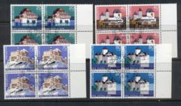 Switzerland 1978 Welfare Castles Blk4 CTO - Switzerland