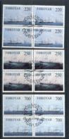 Faroe Is 1983 Cargo Ships Blk4 FU - Finland