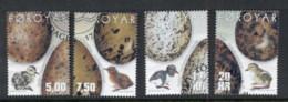 Faroe Is 2002 Birds Eggs & Chicks FU - Finland