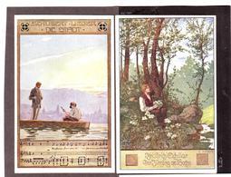2 X Alte AK Ernst KUTZER Schiller Schubert, B.K.W.I. 1910-20 - Kutzer, Ernst