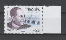 FRANCE / 2017 / Y&T N° 5173 ** : Père Victor Dillard BdF D - Gomme D'origine Intacte - France