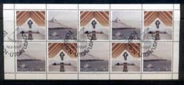Faroe Is 1998 Frederickschurch Booklet Pane FU - Finland