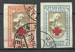 Estland Estonia 1921 Michel 29 - 30 B O - Estonie