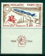 France 1964 Phila Tec & Label MLH Lot29057 - France