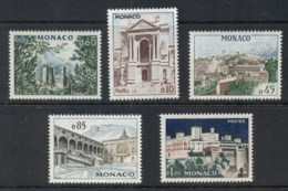 Monaco 1960 Palace Pictorials MUH - Unclassified