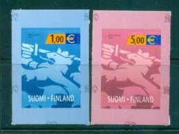 Finland 2002 1 & 5 ? Heraldic Lion MUH Lot67139 - Finland
