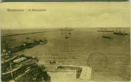 URUGUAY - MONTEVIDEO - EL ANTE-PUERTO - EDIT C. MAVEROFF & C. 1920s ( BG2449) - Uruguay