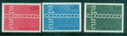 Monaco 1971 Europa, Chain Through O MUH Lot65520 - Monaco