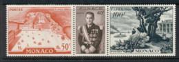Monaco 1956 Philexfrance Str3 MUH - Unclassified
