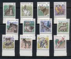 Switzerland 1996 Animals MUH - Unused Stamps