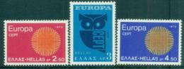 Greece 1970 Europa, Woven Threads MUH Lot65495 - Greece
