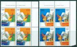 Greece 2000 Olympics Imprint Block 4 MUH Lot27399 - Greece