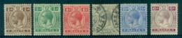 Malta 1921-22 KGV King George V Asst (faults 1d Thin, 6d Toned Perfs) FU/MLH - Malta