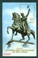 Romania 1975 Michael The Brave IMPERF MS MUH Lot57456 - 1948-.... Republics