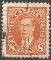 Canada. 1937-38 KGVI Definitives. 8c Used. SG 362 - 1937-1952 Reign Of George VI