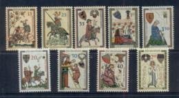 Liechtenstein 1961-62 Minnesingers MUH - Liechtenstein