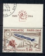 France 1964 Philatec Paris, Rocket & Rider + Label CTO - France