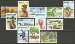 Nauru,Life On Nauru 1984.,MNH - Nauru