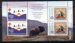 Greenland 1993 Red Cross , Boy Scouts MS MUH - Greenland