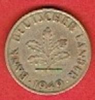 GERMANY  #   10 PFENNIG FROM 1949 - 10 Pfennig