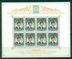 Liechtenstein 1987 Prince Alois Sheetlet MUH Lot58374 - Liechtenstein