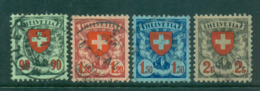 Switzerland 1924 Arms FU Lot59051 - Used Stamps