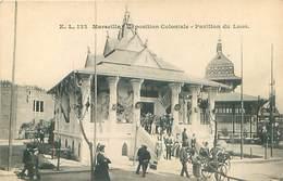 13  Marseille - Exposition Coloniale - Pavillon Du Laos   T 677 - Expositions Coloniales 1906 - 1922
