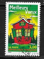 FRANCE 3201 Meilleurs Vœux Maison Décorée Volets Verts . - France