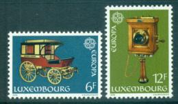 Luxembourg 1979 Europa, Communications MUH Lot65728 - Luxembourg