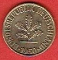 GERMANY  #   10 PFENNIG FROM 1950 - 10 Pfennig