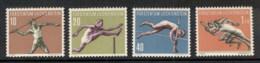 Liechtenstein 1956 Sports, Athletics MUH - Liechtenstein