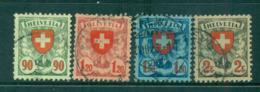 Switzerland 1933 Arms, Grilled FU Lot59066 - Switzerland