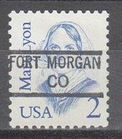 USA Precancel Vorausentwertung Preo, Locals Colorado, Fort Morgan 840,5 - Vereinigte Staaten