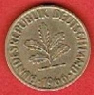 GERMANY  #   10 PFENNIG FROM 1966 - 10 Pfennig
