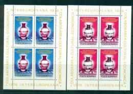 Romania 1976 IECEC Sheetlets 2x MUH Lot57463 - 1948-.... Republics
