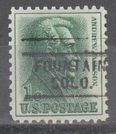 USA Precancel Vorausentwertung Preo, Locals Colorado, Fountain 729 - Vereinigte Staaten