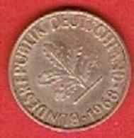 GERMANY  #   10 PFENNIG FROM 1968 - 10 Pfennig