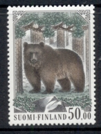 Finland 1989 Brown Bear MUH - Finland