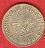 GERMANY  #   10 PFENNIG FROM 1970 - 10 Pfennig
