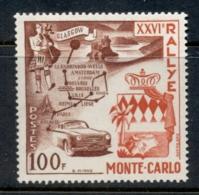 Monaco 1956 Monte Carlo Rally, Glasgow To Monte Carlo MUH - Unclassified