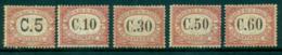 San Marino 1924 Postage Due To 60c (toned Gum)MLH Lot40088 - San Marino