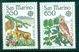 San Marino 1986 Europa MUH Lot40263 - Unused Stamps