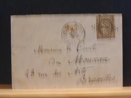 82/830   LETTRE   PARIS   ETOILE NR. 1  PL. DE LA BOURSE  TIMBRE 56  POUR LA BELG. - 1849-1876: Classic Period