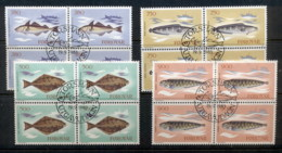 Faroe Is 1983 Fish Blk4 FU - Finland
